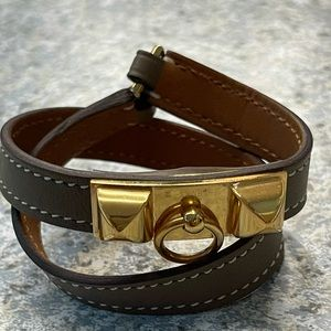 Hermes Rivale Double Tour bracelet